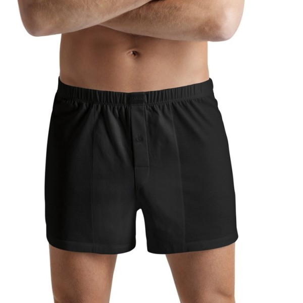"Hanro ""COTTON SPORTY"" schwarze Boxer"