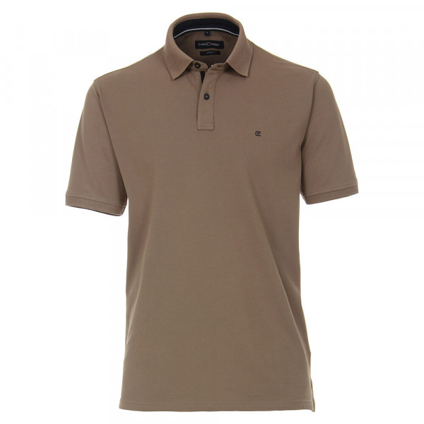 CASAMODA Poloshirt grau in klassischer Schnittform