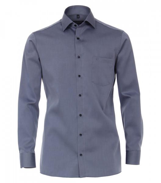 CASAMODA Hemd COMFORT FIT TWILL dunkelblau mit Kent Kragen in klassischer Schnittform