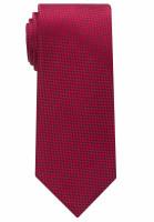 Eterna Krawatte rot strukturiert