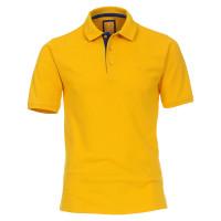 Redmond Poloshirt gelb in moderner Schnittform