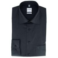 OLYMP Luxor comfort fit Hemd CHAMBRAY anthrazit mit New Kent Kragen in klassischer Schnittform