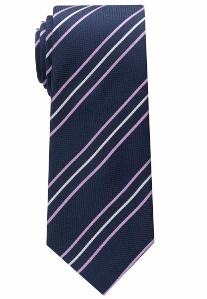 Eterna Krawatte rosa gestreift
