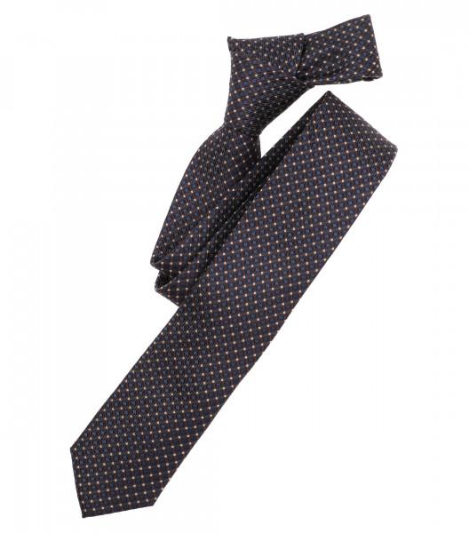 Venti Krawatte hellbraun gemustert
