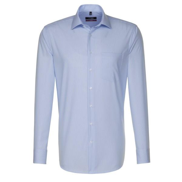 Seidensticker REGULAR Hemd OFFICE hellblau mit Business Kent Kragen in moderner Schnittform