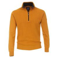 Redmond Pullover gelb in klassischer Schnittform