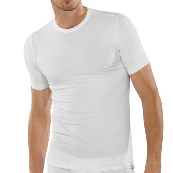 """Schiesser """"95/5"""" weißes T-Shirt"""