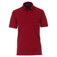 CASAMODA Poloshirt dunkelrot in klassischer Schnittform