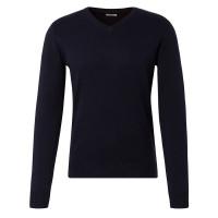 Tom Tailor Pullover dunkelblau in klassischer Schnittform