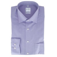 OLYMP Luxor comfort fit Hemd CHAMBRAY flieder mit New Kent Kragen in klassischer Schnittform