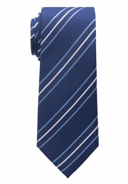 Eterna Krawatte mittelblau gestreift