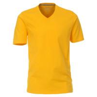 Redmond T-Shirt gelb in klassischer Schnittform