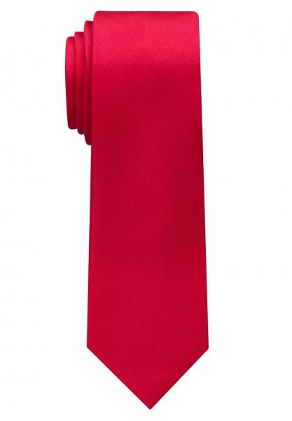 Eterna Krawatte rot unifarben