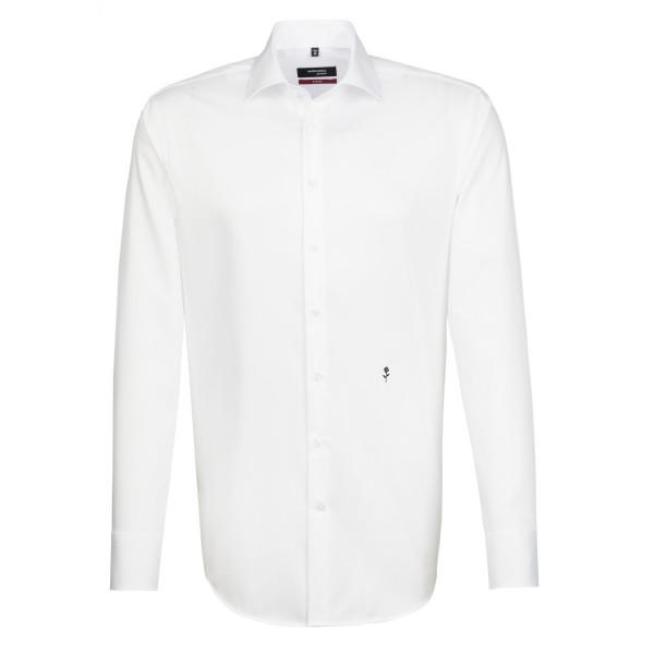 Seidensticker REGULAR Hemd ORIGINAL weiss mit Business Kent Kragen in moderner Schnittform
