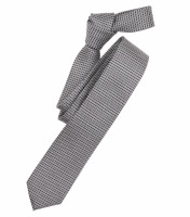 Venti Krawatte anthrazit gemustert