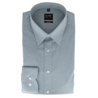 OLYMP Level Five body fit Hemd CHAMBRAY grau mit New York Kent Kragen in schmaler Schnittform