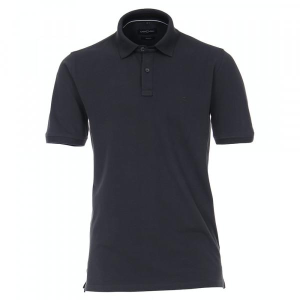CASAMODA Poloshirt anthrazit in klassischer Schnittform
