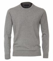 CASAMODA Pullover grau in klassischer Schnittform
