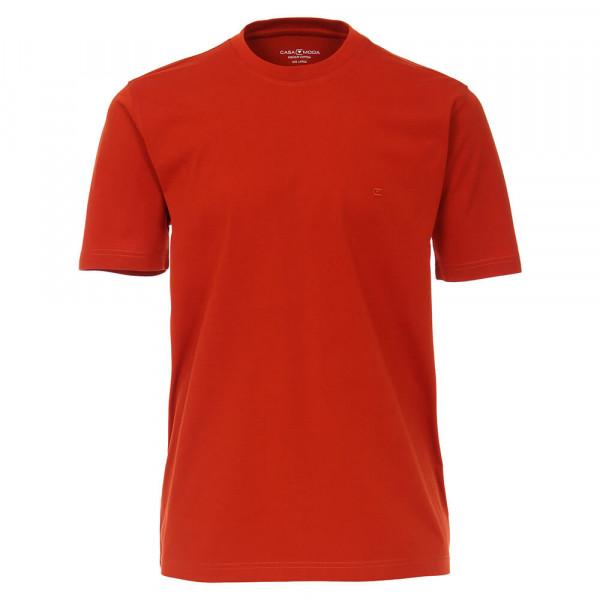 CASAMODA T-Shirt orange in klassischer Schnittform