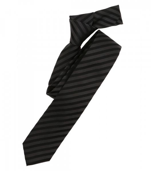 Venti Krawatte schwarz gestreift
