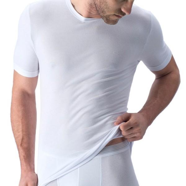 """Camel Active """"CA UNDERWEAR 20"""" weiße T-Shirts im Doppelpack"""