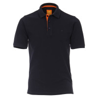 Redmond Poloshirt dunkelblau in moderner Schnittform
